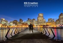 Pre wedding in San francisco by ES Creation Photography