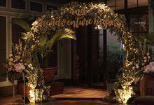 HANY & FABIAN WEDDING by Nona Manis Creative Planner