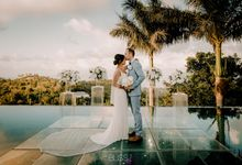 Andrei & Tuyen wedding at Villa Suralai Koh Samui, Thailand. by BLISS Events & Weddings Thailand