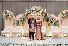 Intimate wedding decoration Addin & Shabrina by AT Decoration