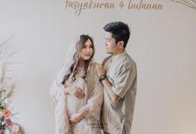 Tasyakuran & Gender Reveal Riri & Dimas by AT Decoration