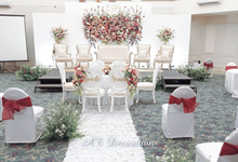 From The Wedding of Eka & Hana by AT Decoration