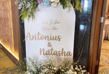From The Wedding of Antonius & Natasha by AT Decoration