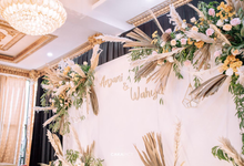 From The Engagement of Anjani & Wahyu by AT Decoration