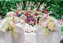 From The Wedding of Vivi & Denafree by AT Decoration