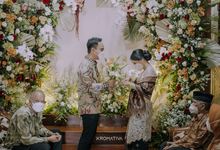 From The Engagement of Octa & Lenggo by AT Decoration
