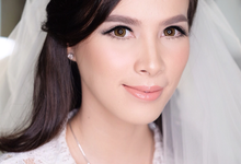 Compilation 1 (before after bride make up) by AT. MUA