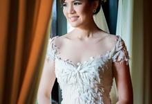 Mrs. Rina (wedding day make up) by AT. MUA