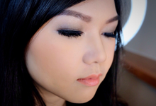 Mrs. Liem lisya & Ms. Cindy (party make up) by AT. MUA