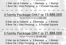 Family packages by Atham Tailor