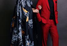 Ruben Onsu & Sarwendah by Atham Tailor