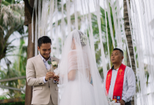 Randy Pangalila & Chelsey Frank's Wedding by Atham Tailor