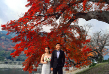 Osaka Wedding Party /Kyoto prewedding shoot  by Aulifo Libli