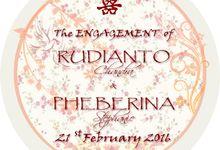 Engagement Rudianto ❤ Pheberina by Prince Organizer