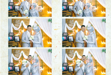 The Wedding Sari & Rico by Austin Photobooth