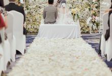 Holy Matrimony of Andry &Violine by Menara Mandiri (Ex. Plaza Bapindo) by IKK Wedding