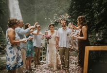 Waterfall wedding Samuel & Kaitlyn by The Seven Agency