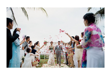 Intimate Wedding At the Beachfront Private Villa by AVAVI BALI WEDDINGS