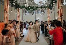 Eka & Yessiel Wedding Day  by Aveda Footwear