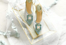 The Magical Ice Blue by Aveda Footwear