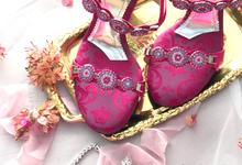 Sandals always appropriate forTraditional Weddings by Aveda Footwear