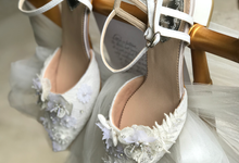 Personalised your Happily Ever After Wedding Shoes by Aveda Footwear