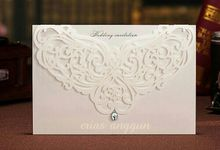 Wedding Invitation Lasercut by Erias Anggun