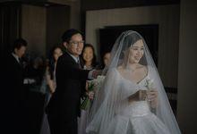 The Wedding of Edbert & Febby by William Saputra Photography