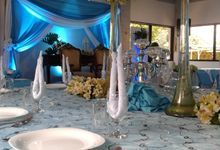Blue Skies Wedding by Manny's Event Venue