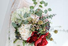 Artsy Bohemian Wedding of Nico & Felicia by Jennifer Natasha - Jepher