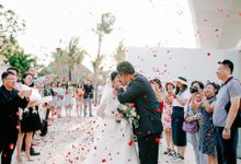Ayana Bali Wedding |  Mengying & Yu Zhai by Eurasia Wedding