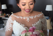 Bride: Karina Daluz by Ayen Carmona Make Up Artist