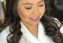 Prep look: Bride Josephine by Ayen Carmona Make Up Artist