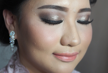 Victoria's Reception Look by ayrin makeup