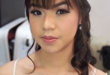 Bridesmaid by ayrin makeup