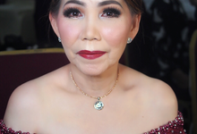 Mother of Groom - Night Look by ayrin makeup