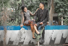 Post Wedding of Ayu and Ferdi by kolektifphotovideo