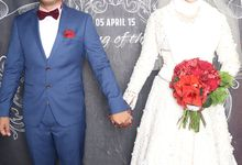 Azri and Nurul Wedding by TINY PHOTO LLP