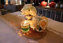 Edi Juli Wedding by Buttercup Decoration