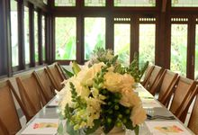 Kompasiana Taste of Macao Table Decoration - NUSA Indonesian Gastronomy 14 Juli 2018 by FIORE & Co. Decoration