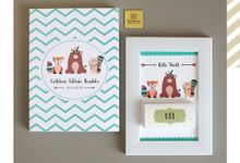 Indian Themed Invitation-Souvenir with Chocolate Bars by Furēmu