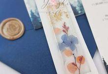 Customized Bookmark for wedding souvenir by Yoshi Craft