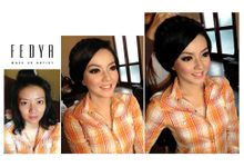 Before - After by Fedya Make Up Artist