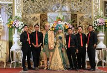 sheilla hazyah wedding day by Link Wedding Planner