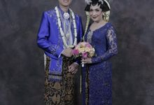 The Wedding of Fita & Seno by Kanye Kebaya