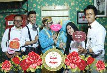 Wedding of Angga & Tutut by Netjes Photobooth