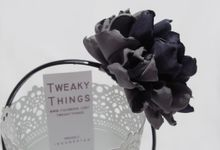Fabric flower - Headband by TweakyThings