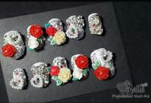 Prewedding Nails by Bellanailart