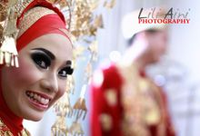 The Wedding Day of Nuril & Halim by Lili Aini Photography