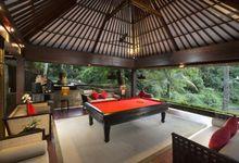 MEDIA ROOM AND BILLIARD ROOM by Villa The Sanctuary Bali